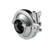Sanitary Stainless Steel Middle-clamp Welded Check Valve