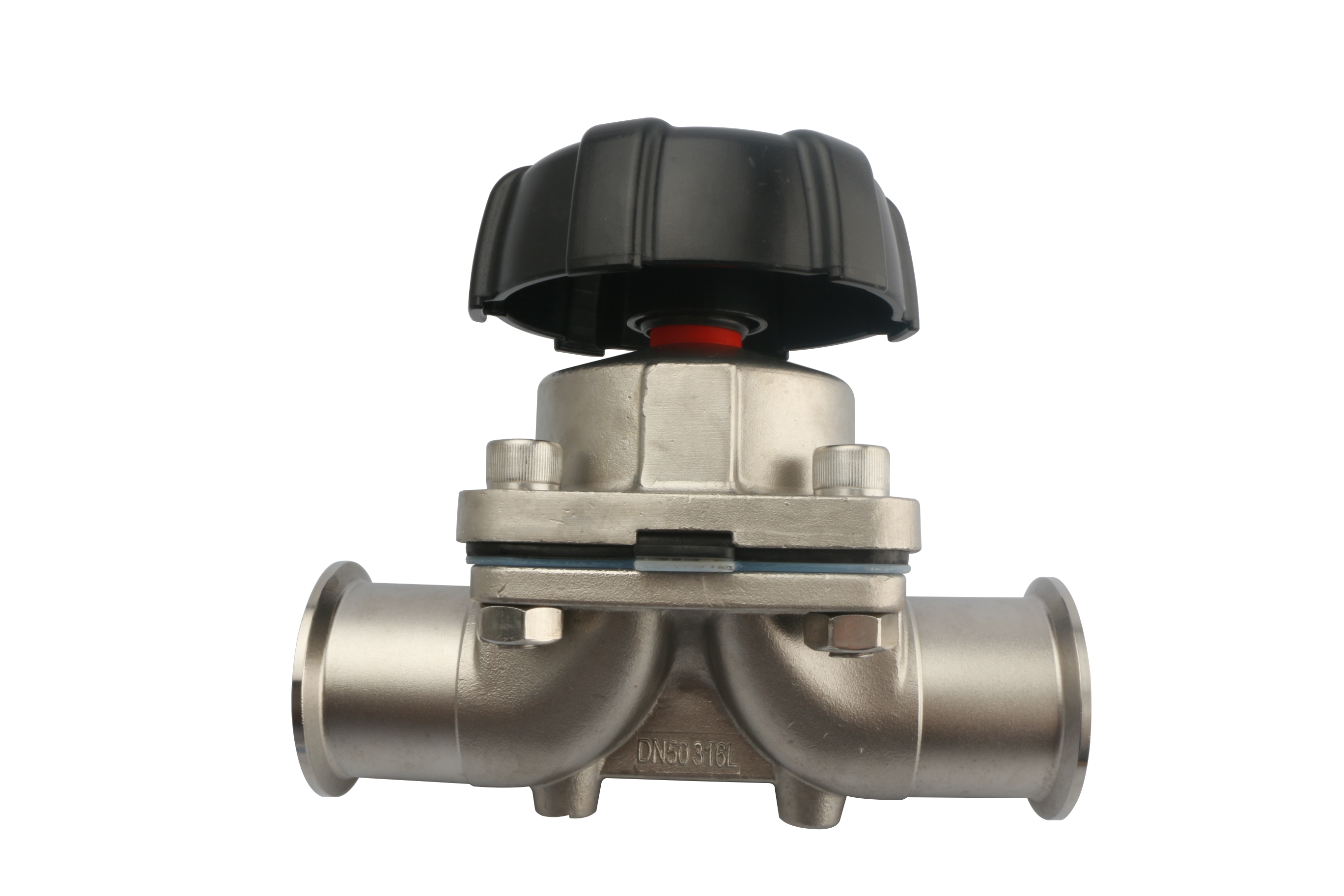 Sanitary SS Manual Food Grade Diaphragm Valve