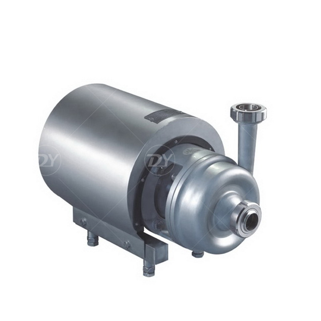 Sanitary Round Cover Milk Centrifugal Pump