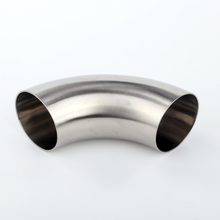 Mirror Polished Sanitary Stainless Steel Ss304 90 Degree Welding Elbow