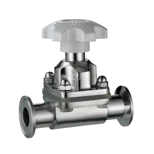 Stainless Steel Sanitary Clamp Manual Diaphragm Valve