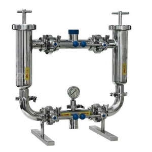 Sanitary Stainless Steel Double Filter