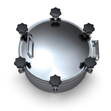 Sanitary Stainless Steel Round Pressure Manway Cover